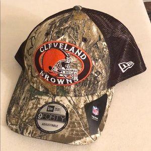 New Era Cleveland Browns Realtree SnapBack hat